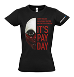 T-Shirt Payday 2 Wolf Mask - fur Frauen - M