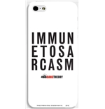 iPhone Cover Big Bang Theory - Immune to Sarcasm