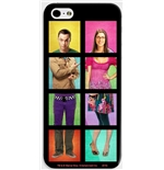Smatphone Cover Big Bang Theory . Sheldon und Bernadette