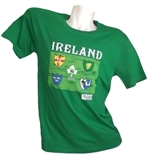 T-Shirt Irland Rugby 139329