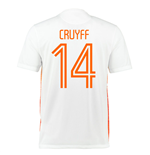 Trikot Holland Fussball 2015-2016 Away (Cruyff 14)