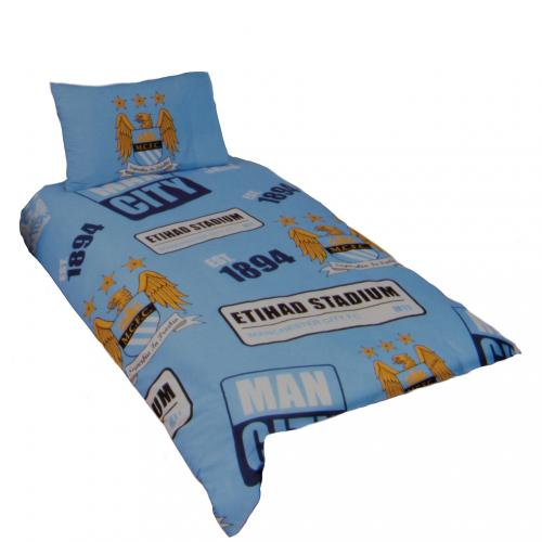 Bettzubehör Manchester City FC  Duvet Set PT