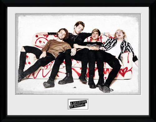 Kunstdruck 5 seconds of summer 139895