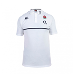 Polohemd England Rugby 2015-2016 (Weiss)