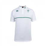 Polohemd Irland Rugby 2015-2016 (Weiss)