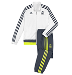 Trainingsanzug Real Madrid 2015-2016 (Weiss)