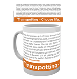 Tasse Trainspotting - Frase