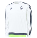 langärmeliges T-Shirt Real Madrid 2015-2016 (Weiss)