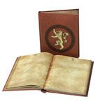 Game of Thrones Notizbuch mit Leuchtfunktion Lannister