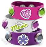 Spielzeug Violetta Click and Charm - Armband Slpa Weiss/Rosa/Violet