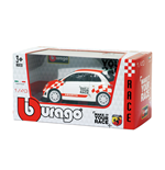 Modellauto Abarth Bburago - Abarth 500 Make It Your Race 1:43