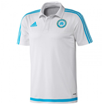 Polohemd Olympique Marseille 2015-2016 (Weiss)