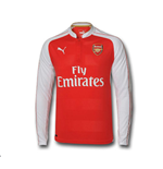 Longsleeve Trikot Arsenal 2015-2016 Home