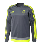Sweatshirt Real Madrid 2015-2016 (Grau)