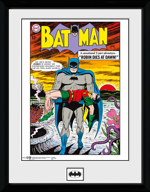 Kunstdruck Batman Dies at Dawn
