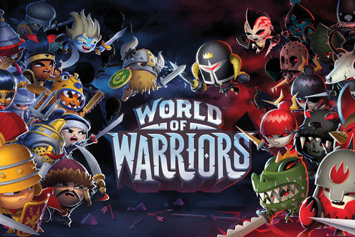 Poster World of Warriors 143613