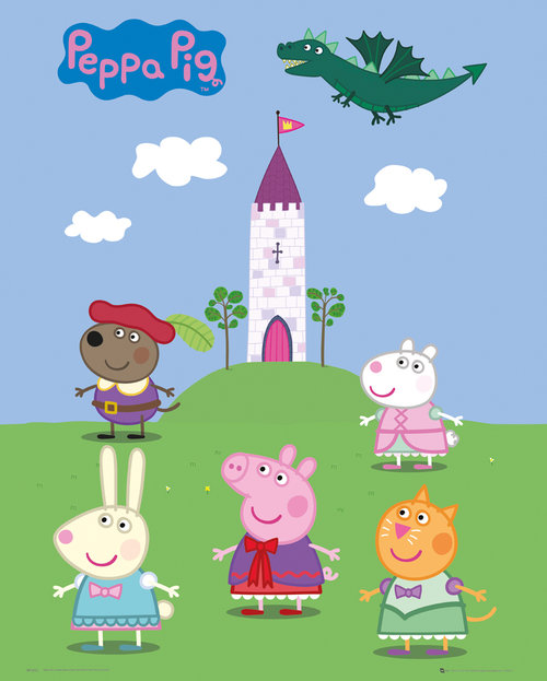 Poster Peppa Pig 143664