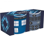 Doctor Who Mini-Tassen 2er Pack