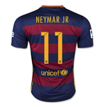 Trikot Barcelona 2015-2016 Home (Neymar JR 11) fur Kinder