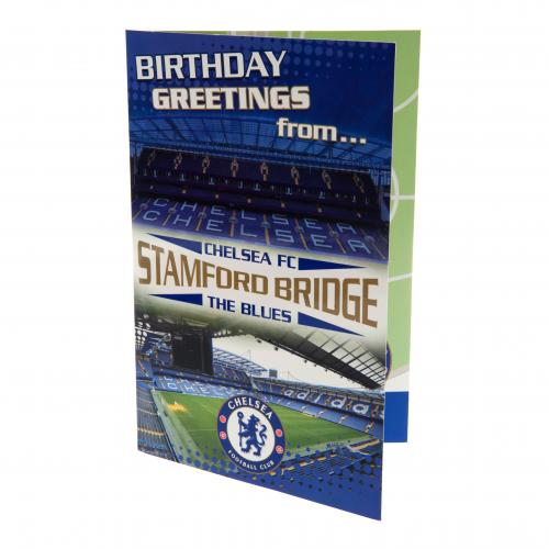 Grußkarte Chelsea F.C. Pop-Up Birthday Card