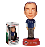 The Big Bang Theory Wacky Wobbler Wackelkopf-Figur Sheldon Exclusive Superman Formula Shirt 15 cm