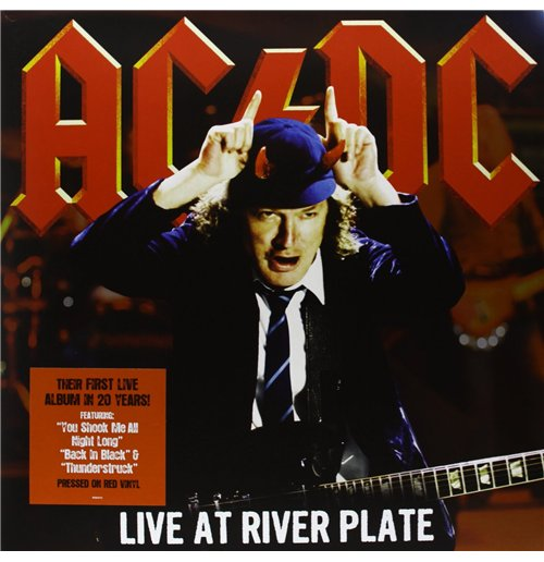 Vinyl Ac/Dc - Live At River Plate (3 Lp)