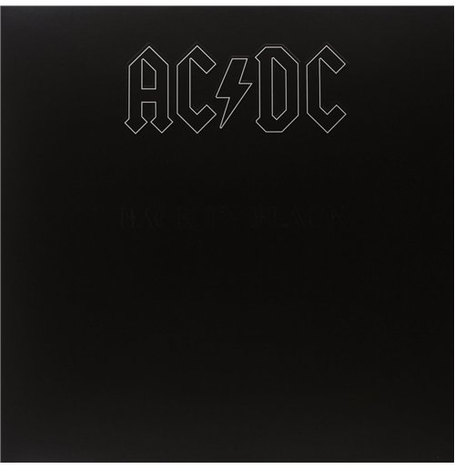 Vinyl Ac/Dc - Back In Black