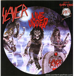 Vinyl Slayer - Live Undead/hauntung The Chapel
