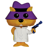 Hanna Barbera POP! Animation Vinyl Figur Secret Squirrel 9 cm