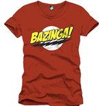 T-Shirt Big Bang Theory - BAZINGA!