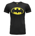 T-Shirt Batman - Distressed Logo