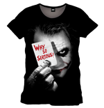 T-Shirt Batman - The Dark Knight - Why So SERIOUS?
