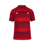 Polohemd England Rugby 2015-2016 (Rot)