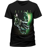 T-Shirt Alien - Alien Head