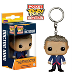 Doctor Who POP! Vinyl Schlüsselanhänger 12th Doctor 4 cm