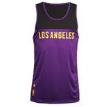 T-Shirt Los Angeles Lakers (Violett)