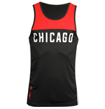 T-Shirt Chicago Bulls (Schwarz)