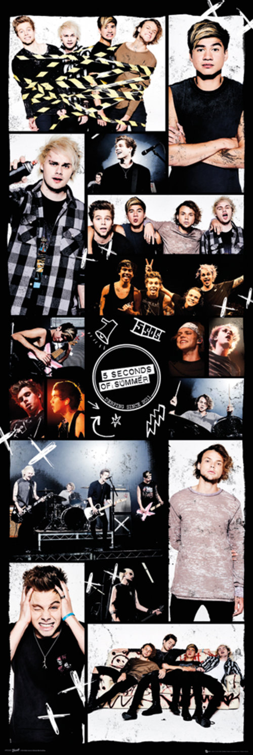 Poster 5 seconds of summer Grid 2