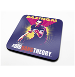 The Big Bang Theory Untersetzer Bazinga Purple 6-er Pack