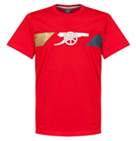 T-Shirt Arsenal 2015-2016 (Rot)