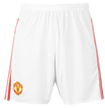 Shorts Manchester United FC 2015-2016 Home (Weiss)