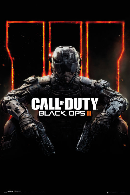 Maxi Poster Call Of Duty Black Ops 3