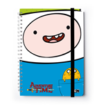 Adventure Time Notizbuch A4 Finn