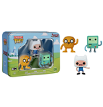 Adventure Time Pocket POP! Vinyl Figuren 3er-Pack Tin Finn, Jake, BMO 4 cm