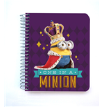 Minions Mini Notizbuch Minions King