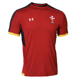 T-Shirt Galles Rugby 2015-2016 (Rot)