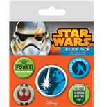 Star Wars Ansteck-Buttons 5er-Pack Jedi