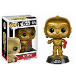 Star Wars Episode VII POP! Vinyl Wackelkopf-Figur C-3PO 10 cm