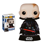 Star Wars POP! Vinyl Wackelkopf-Figur Unmasked Darth Vader 9 cm