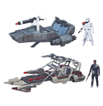 Star Wars Episode VII Class II Fahrzeuge mit Figuren 2015 Wave 1 Sortiment (3)